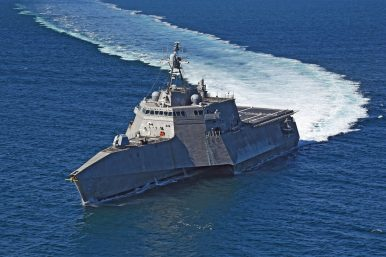 US Navy Deploys Littoral Combat Ship to Indo-Pacific Region For First Time Since 2016
