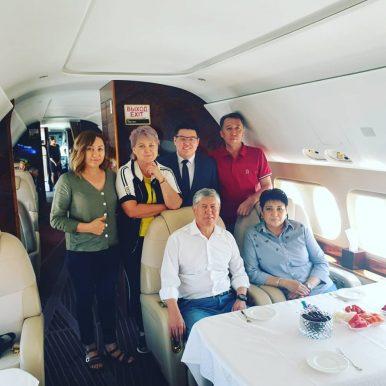 Under Pressure in Kyrgzystan, Atambayev Flies to Russia