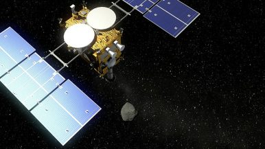 In First, Japanese Space Probe Collects Underground Samples From Asteroid