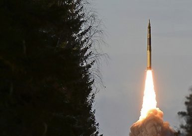 Russia's Strategic Rocket Forces Test Fire Nuclear-Capable Topol ICBM