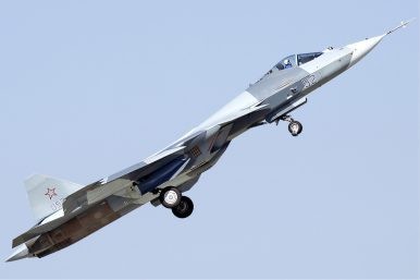 Government Official: Russia Has Launched Production of Su-57 Stealth Fighter