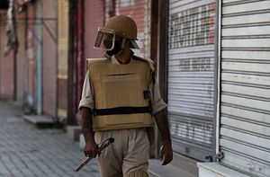 Indian Order Leaves Kashmir Police Dispirited, Even Disarmed