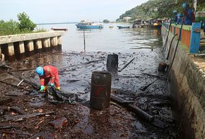 The Oil Spill in Indonesia Will Cost PT Pertamina