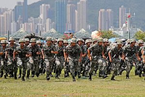 China Rotates New Troops Into Hong Kong Amid Mass Protests
