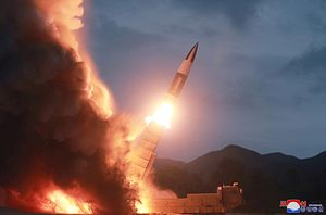 North Korea Tests New Type of Short-Range Ballistic Missile