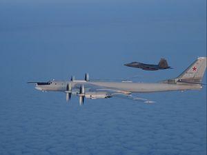 US, Canadian Fighter Jets Intercept 2 Russian Strategic Bombers Off Alaska