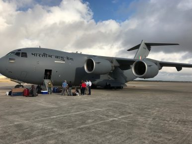 India Takes Delivery of 11th C-17 Globemaster From United States