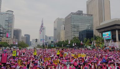 Why Are Street Protests So Common in South Korea?