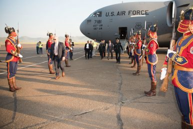 US Defense Secretary Visits Mongolia to Strengthen Military Bonds