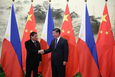 South China Sea Tops Agenda as Philippines' Duterte Arrives in China