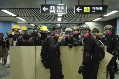 Protests, General Strike Bring Hong Kong to a Standstill