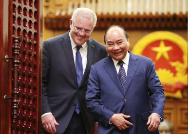 Middle Powers, Joining Together: The Case of Vietnam and Australia