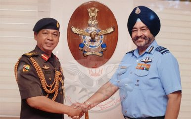 Military Chief Visit Highlights India-Brunei Security Collaboration
