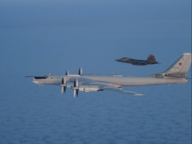 US, Canadian Fighter Jets Intercept 2 Russian Strategic Bombers Off