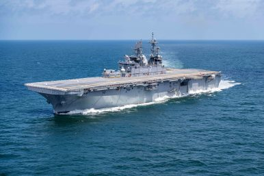 Delivery of US Navy's F-35B-Carrying Amphibious Assault Ship Delayed