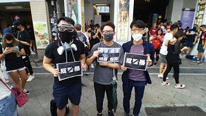 In Taiwan, Hong Kongers Call for Attention