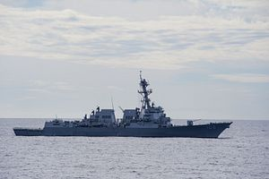 South China Sea: US Navy Warship Conducts Freedom of Navigation Operation Near Paracel Islands
