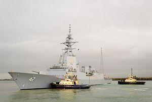 Australia's Third Air Warfare Destroyer Enters Sea Trials