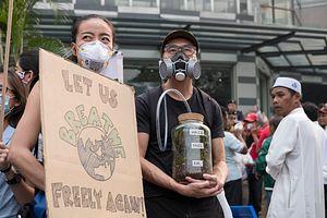 Climate Strike in Hazy Kuala Lumpur
