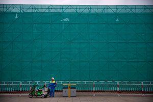 A Lockdown in Central Beijing