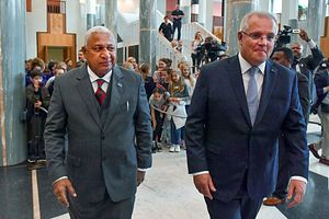 A Warm Welcome for Fijian Prime Minister in Australia
