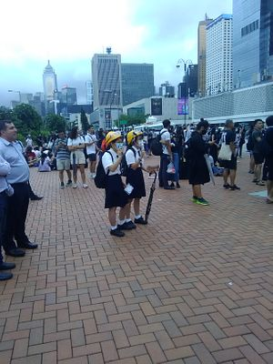 Young Students Make Their Voices Heard in Hong Kong