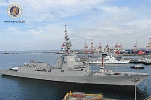 What's in the First Spain Warship Voyage to the Philippines?