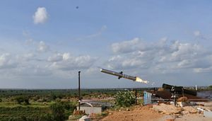 India's DRDO Test Fires New Man-Portable Anti-Tank Guided Missile System