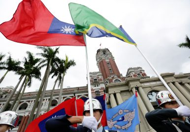 Taiwan Hosts Top Solomon Islands Official Amid Reports of a Diplomatic Switch to Beijing