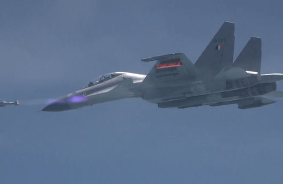 India's Air Force Test Fires Astra Beyond Visual Range Air-to-Air Missile
