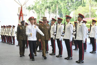 Army Chief Introductory Visit Puts the Focus on Singapore-Australia Military Ties
