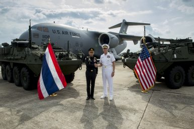 First Stryker Delivery Puts US-Thailand Military Ties into Focus