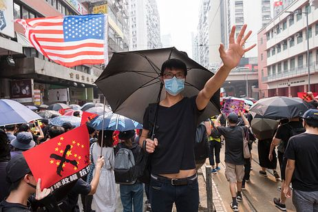 In Hong Kong: No Celebration, 'Only a National Tragedy'