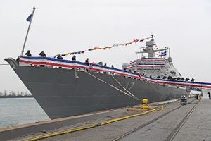US Navy Commissions New Littoral Combat Ship USS Indianapolis
