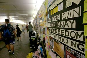 Taiwan Condemns Attack on Hong Kong Activist Denise Ho and Destroyed Lennon Walls