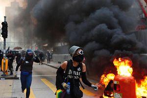 Hong Kong Protester Shot as China Marks 70th Anniversary