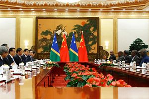 Perceiving China's Influence in the Pacific: The Case of Solomon Islands