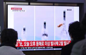 Norea Korea Fires 2 Missiles in the Sea Amid Stalled Talks