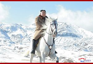 Kim Jong Un's Horseback Stunt Is No Laughing Matter