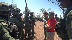 Minister Visit Highlights Singapore-Australia Military Ties