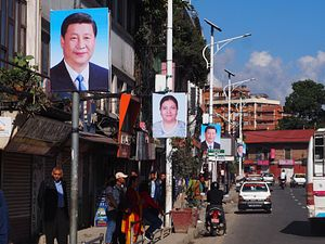 High Expectations as China's Xi Lands in Nepal