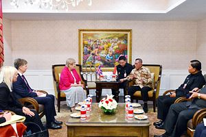 UK-Indonesia Military Ties in the Headlines with Minister of State Visit