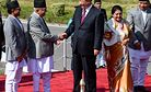 Nepal Between China and India