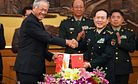 Defense Ministers Interaction Highlights China-Singapore Security Ties