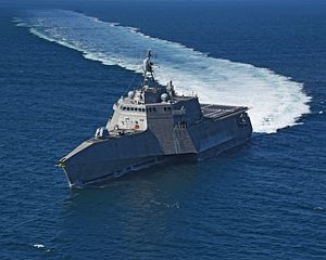 US Navy Sends Two Independence-Class Littoral Combat Ships to South China Sea
