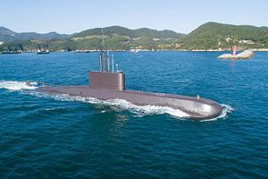 South Korea's Navy Receives Third Upgraded Chang Bogo I-Class Diesel Electric Submarine