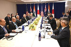 US, India, Australia, Japan 'Quad' Holds Senior Officials Meeting in Bangkok