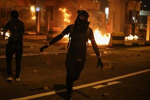 Hong Kong Police: Protesters 'One Step Closer to Terrorism'