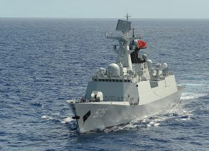 Chinese, Russian, South African Navies Conduct Trilateral Naval Exercises