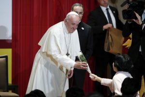 Pope Ends Japan Visit on Personal Note